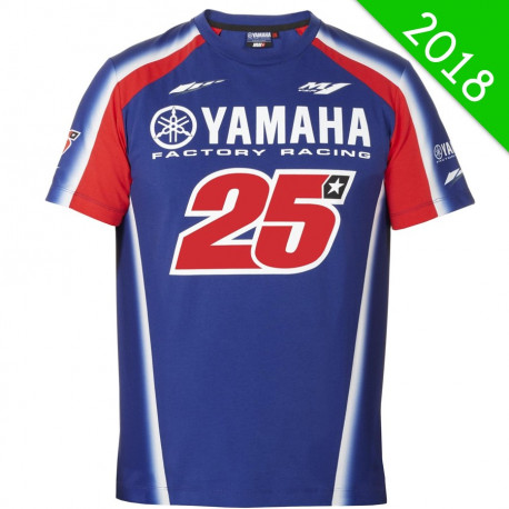 audemar:T-SHIRT HOMME MV25 YAMAHA 2018