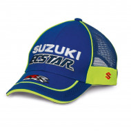 audemar:CASQUETTE FILET SUZUKI MOTOGP TEAM 2018