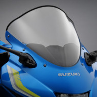 audemar:BULLE HAUTE CLAIRE POUR SUZUKI GSX-R125