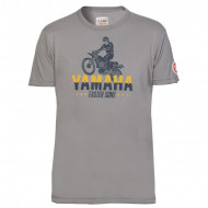 T-SHIRT ABBOT GRIS POUR HOMME-YAMAHA FASTER SONS 2019