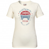 T-SHIRT BEIGE BEXAR POUR FEMME-YAMAHA FASTER SONS 2019