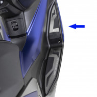 audemar:PLATINES REPOSE-PIEDS FRONTAUX KYMCO POUR XCITING S400I