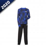 audemar:PYJAMA CAMO ENFANT STUTTGART-YAMAHA PADDOCK BLUE 2020