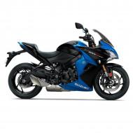audemar:GSX-S1000F Metallic Triton Blue / Glass Sparkle Black