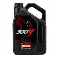 audemar:HUILE MOTEUR 4L 10W40 4T 100% Synthèse MOTUL 300V Road Racing