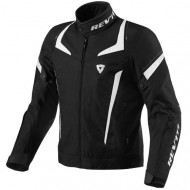 audemar:Blouson REV'IT Jupiter Noir et Blanc