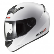 audemar:CASQUE INTEGRAL LS2 ROOKIE FF352 BLANC