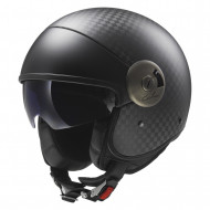 audemar:CASQUE JET LS2 CABRIO CARBONE OF597