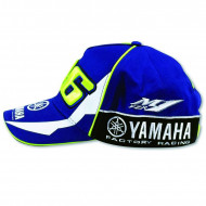 CASQUETTE VALENTINO ROSSI BLUE ROYAL YAMAHA