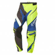 audemar:PANTALON CROSS ADULTE YAMAHA 2017 MX DUNS JAUNE NOIR BLEU